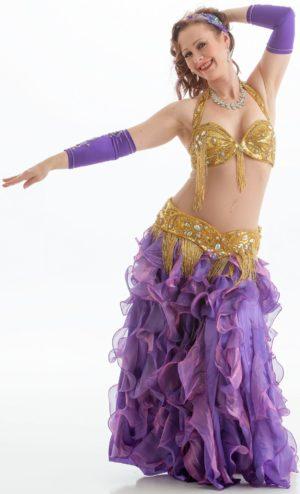 Magedans trommesoloteknikk og koreografi