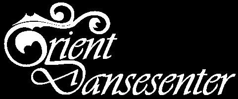 Orient Dansesenter logo stor hvit