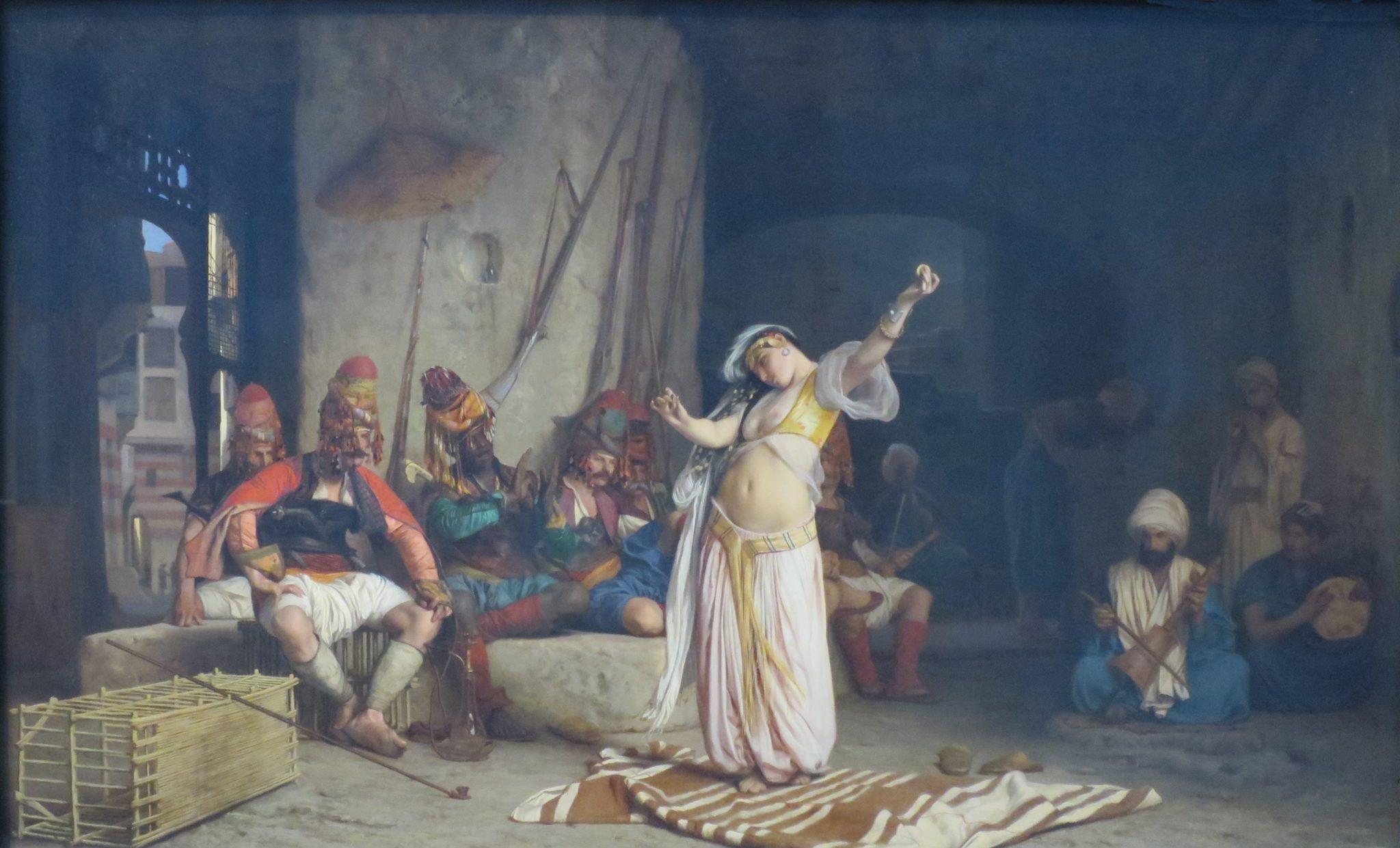 Jean-Léon Gérôme (1863) Magedanser