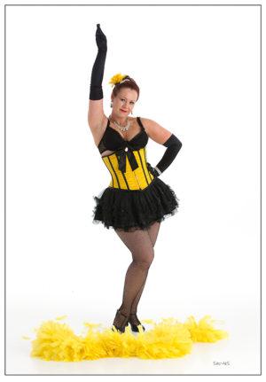 Burlesque trinn og bevegelser