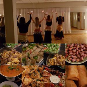 Deilig mat og fin dans på juleavslutningen 2018