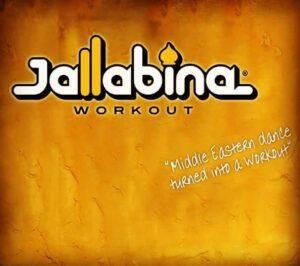 Jallabina logo på gul bakgrunn
